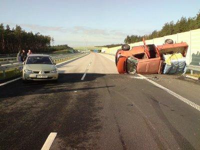 Do zdarzenia doszło na autostradzie A 4
