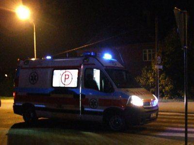Ranny pieszy został odwieziony do bolesławieckiego szpitala