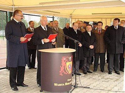Przy mównicy: Mirosław Haniszewski