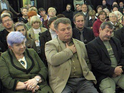 Na spotkaniu pojawiło się duże grono osób zainteresowanych publikacją książki