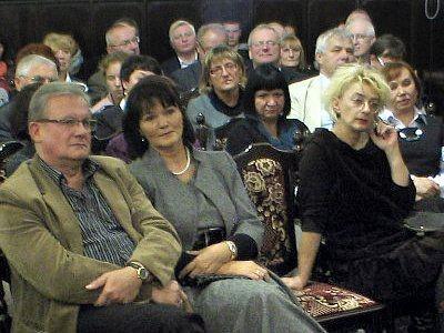 Na spotkanie z Dautą Maślicką przyszli jej przyjaciele i świadkowie opisywanych zdarzeń