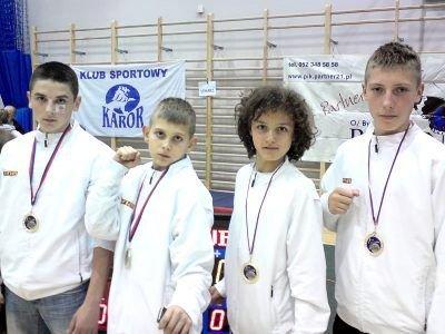Od lewej: Grzegorz Kozioł, Marcin Skiba, Remigiusz Różnicki i Adam Filipek
