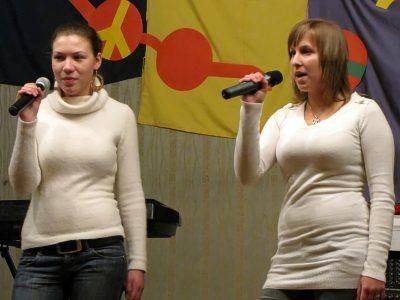 Od lewej: Marta Cieśla i Marta Walska, pomysłodawczynie koncertu