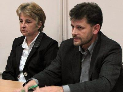 Grażyna Haluch i Krzysztof Pańczak