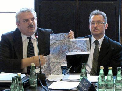 Od lewej: Cezariusz Rudyk i Mirosław Sakowski