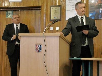 Spotkanie poprowadzili: Cezariusz Rudyk (po lewej) i Dariusz Kwaśniewski