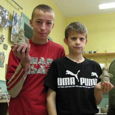 Od lewej: Andrzej Puzio i Adam Buganik
