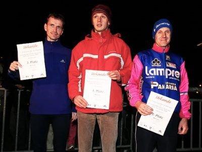 Zwycięzcy zgorzeleckiego biegu, w środku: Wojciech Pachnik