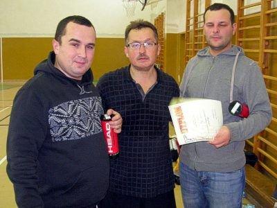 Mirosław Sakowski i zdobywcy miejsca IV miejsca