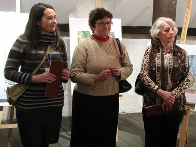 Pierwsza z lewej: Hanna Białas