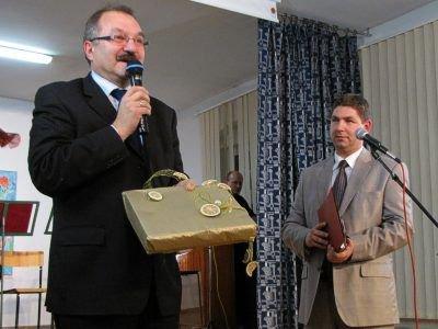 Od lewej: Cezary Przybylski i Marek Łętowski