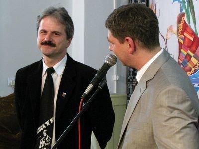 Henryk Jasiński (po lewej)