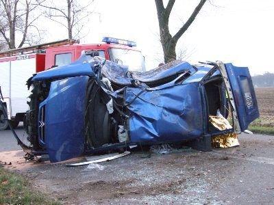 Do tragicznego wypadku doszło na drodze między Łaziskami a Wartą Bolesławiecką