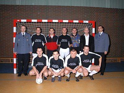 Zwycięzcy Turnieju Piłki Nożnej o Puchar Komendanta Powiatowego Policji w Bolesławcu