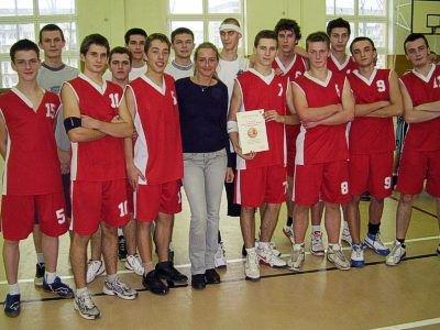 Koszykarze z II LO
