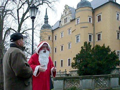 Św. Mikołaj (Adam Faltyn) opowiada o Zamku Kliczków
