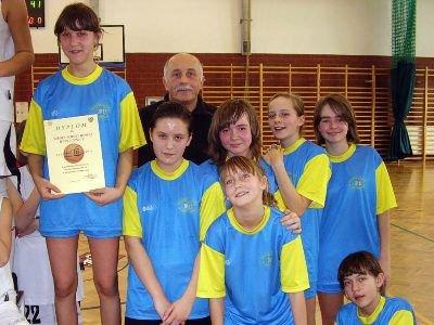 Koszykarki z Osiecznicy