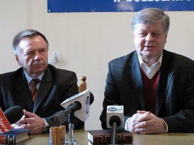 Od lewej: Stanisław Chwojnicki i Jerzy Szmajdziński