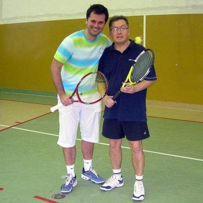 Od lewej: Dominik Chodyra i Mirosław Sakowski