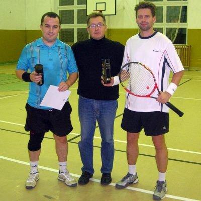 Od lewej: Bartosz Kasprzak, Mirosław Sakowski i Tomasz Rzemek