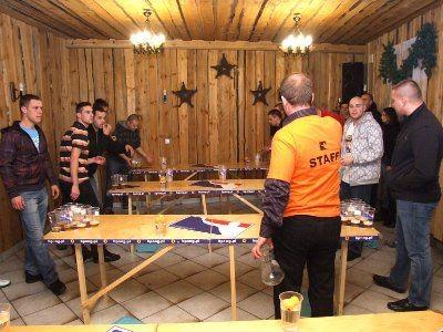 Sponsorem III Mistrzostw BeerPonga była Chata Myśliwska