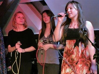 Od lewej: Paulina Pastusiak, Roksana Walczak i Martyna Janiec