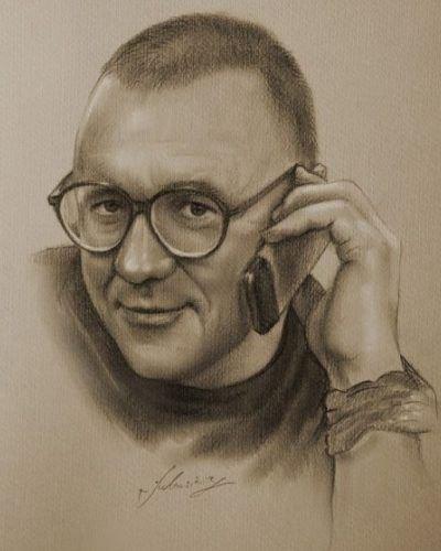 Portret Jurka Owsiaka