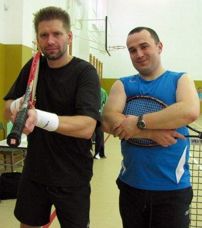 Od lewej: Tomasz Rzemek i Bartosz Kasprzyk