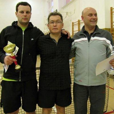 Od lewej: Tomasz Szpila, Mirosław Sakowski i Stanisław Cebulski