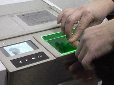 Skaner do pobierania odcisków palców