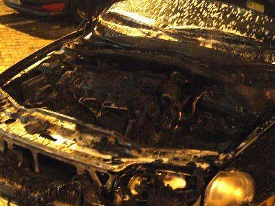 Spalił się osprzęt silnika