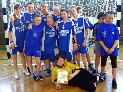 Piłkarki ręczne ze Smolnika zajęły drugie miejsce i także awansowały do finału strefy
