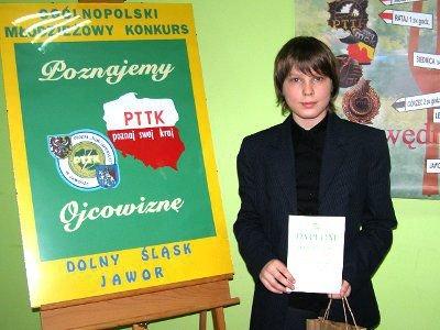 Norman Lippik zajął pierwsze miejsce w kategorii prac multimedialnych