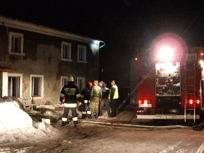 W akcji gaśniczej brały udział 3 zastępy straży pożarnej