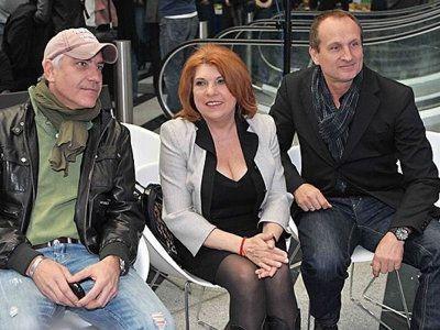 Mark Typer (producent), Krystyna Prońko (wokalistka, kompozytorka i pedagożka), Marek Kościkiewicz (muzyk i autor tekstów)