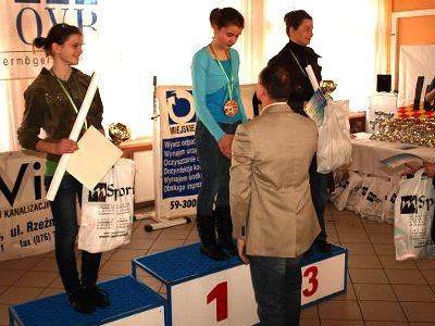 W kategorii open kobiet zwyciężyły Angelika Haniszewska i Dominika Kanikowska
