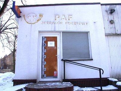 """Punkt PAF miesił się w budynku po byłym sklepie """"Barbórka"""""""