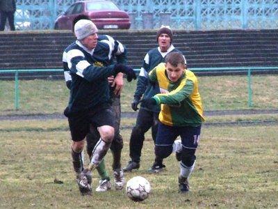 Adam Klimas zdobył gola w pierwszej połowie