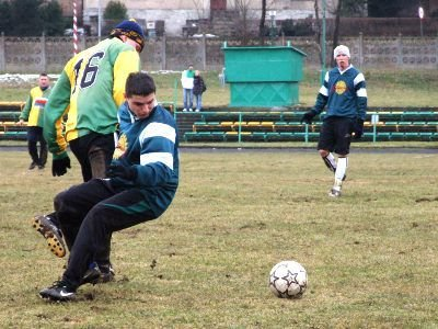 Mecz z Czarnymi Lwówek był ostatnim sprawdzianem przed rundą wiosenną