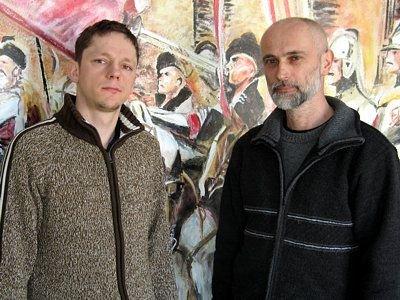 Tomasz Kaluzka i Waldemar Cieślak