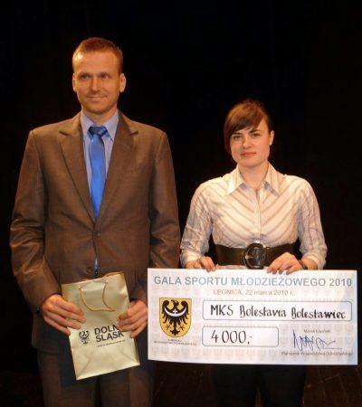 Bartosz Gruman i Katarzyna Romaszko (MKS Bolesłavia)