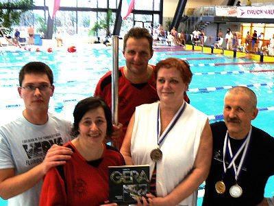 Pływacy z Klubu Pływackiego Masters Bolesławiec