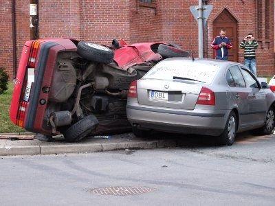 Do zderzenia doszło na skrzyżowaniu ulic Orzeszkowej i Łąkowej