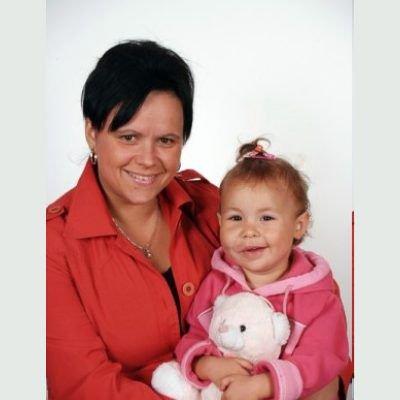Nikola Osińska z mamą