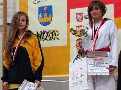 Paulina Stojanowska (pierwsza z lewej) zajęła drugie miejsce