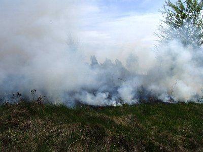 Ogień pojawił się w kilku miejscach