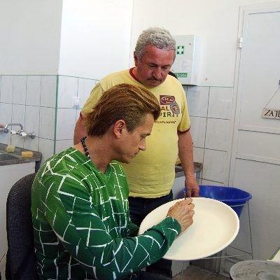 Jakimowicza zauroczyła bolesławiecka ceramika