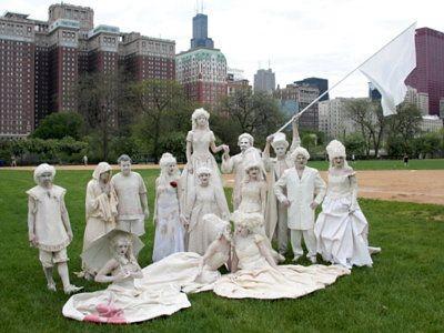 Glinoludy w Chicago