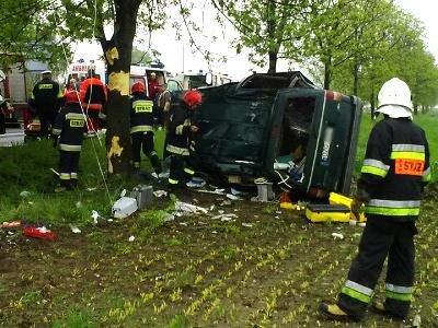 Do wypadku doszło w miejscowości Zebrzydowa