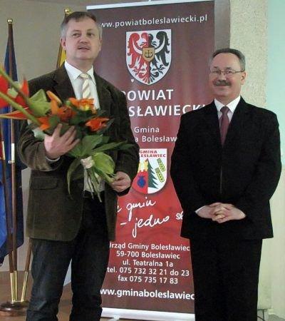 Od lewej: Dariusz Kwaśniewski i Jacek Jurkiewicz